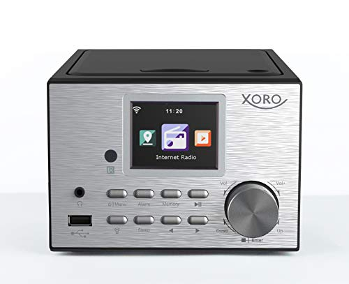 Xoro HMT 500 PRO - Micro Stereo Anlage (Internet-/DAB+/UKW-Radio, CD Player, Bluetooth V4.0, Mediaplayer, 2.4